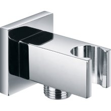 Villeroy and boch bathroom outlet uk - Square Wall Outlet Elbow With Bracket Ki121a
