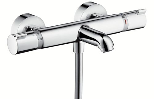 Hansgrohe Ecostat Comfort Thermo Bath Mixer Exposed 13114000