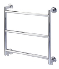 Keeling Chrome Wall Mounted Towel Rail P4MITRED