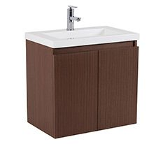 Miliano Wenge Vanity Unit Inc. Basin