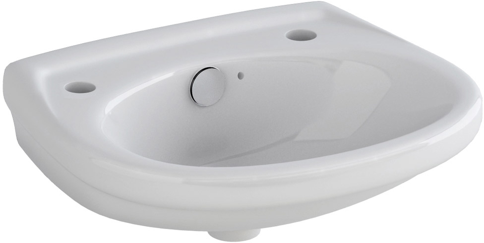 Pura Ivo 360mm Basin With 2 Tap Hole Lh10192th