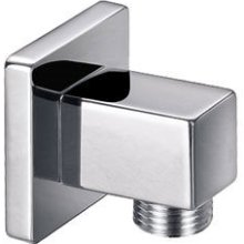 Square Wall Brass Outlet Elbow KI121